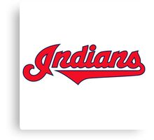 indians logo Canvas Print