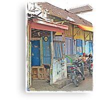 Urban Bikers Canvas Print
