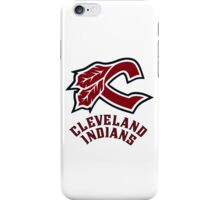cleveland indians logo iPhone Case/Skin