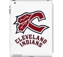 cleveland indians logo iPad Case/Skin