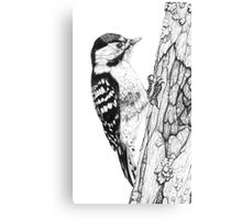 Greater Spotted Woodpecker (cropped version) Canvas Print
