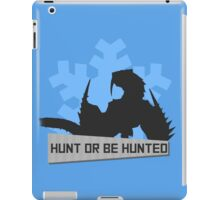 Monster Hunter - Hunt or be Hunted (Barioth) iPad Case/Skin