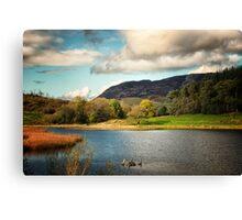 Ireland - Lakeside Vista Canvas Print