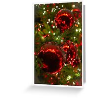 Covent Garden Baubles Greeting Card