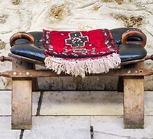 A Place to Sit in Old Town Antalya, Turkey by Robert Kelch, M.D.