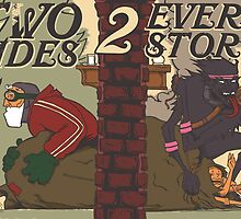 Krampus - Two Sides by Brandon Dawley