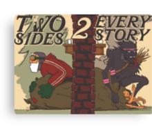Krampus - Two Sides Canvas Print