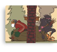 Krampus - Two Sides, No Text Canvas Print