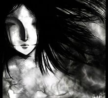 Heartworms - Original Dark Art by harmaa