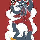 Krampus - Cloud + Cats by Brandon Dawley