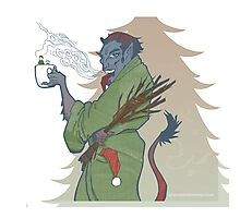 Krampus - Cup Holder Photographic Print