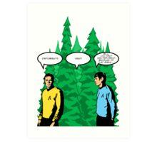 Captain's Confusion Art Print