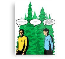 Captain's Confusion Metal Print