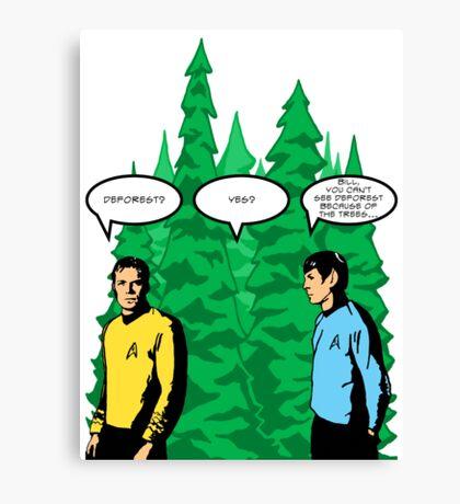 Captain's Confusion Canvas Print