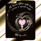 A Heart Filled..... iPad Case by tapiona