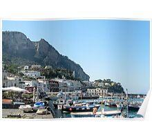 Capri Marina Poster