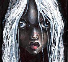 SCARY GIRL by matthew  chapman