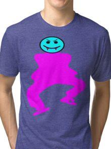 ★ټVampire Smiley Style Hilarious Clothing & Stickersټ★ Tri-blend T-Shirt