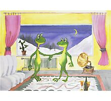 All about Frogs 5,  Dance Photographic Print