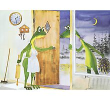 All about Frogs 6,  Newer to late Photographic Print