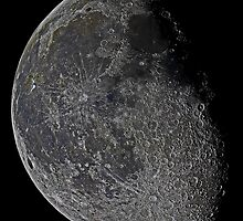 Lunar Mosaic  HD by CRHammond
