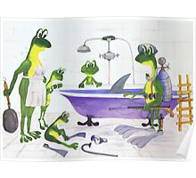All about Frogs 7, Shark hunters Poster