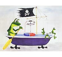All about Frogs 10,  Vacation Photographic Print