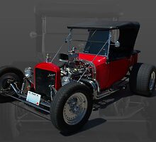 1922 Ford Bucket T Hot Rod by TeeMack