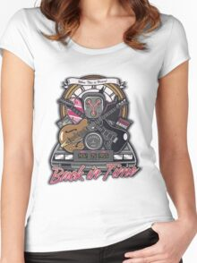 Back in Time Women's Fitted Scoop T-Shirt