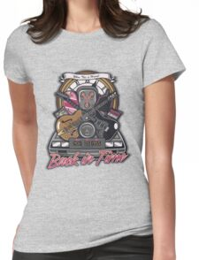 Back in Time Womens Fitted T-Shirt