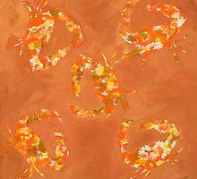 Abstract Stone Crabs by Jose  DeLaRosa