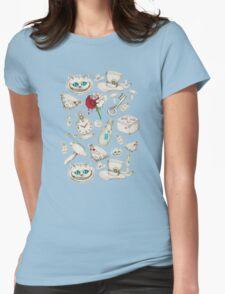Wear to Wonderland - Neutral Tan and Cream T-Shirt
