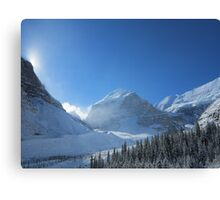 Plain of 6 Glaciers, Lake Louise Canvas Print