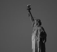 Lady Liberty Alone by AFPhotography