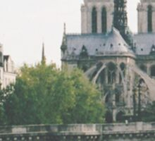 Cathedrale Notre-Dame de Paris Sticker