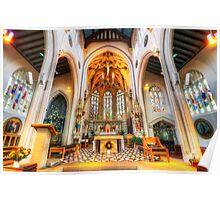 St Mary's Catholic Church - The Altar Poster