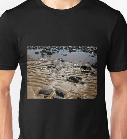 Sand Ripples on the beach, Penguin, Tasmania, Australia. Unisex T-Shirt