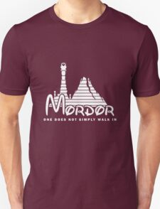 Mordor Picture T-Shirt