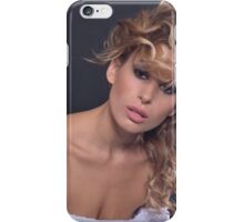 Stuning beauty in amazing portrait iPhone Case/Skin