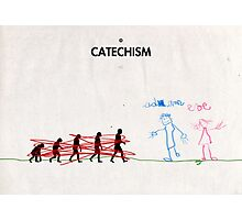 99 Steps of Progress - Catechism Photographic Print