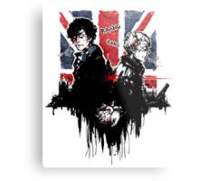 Sherlock: Consulting Detectives Metal Print