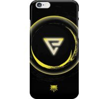 The Witcher Professional Series - Quen (Symbol) iPhone Case/Skin