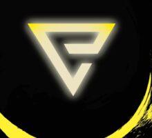 The Witcher Professional Series - Quen (Symbol) Sticker