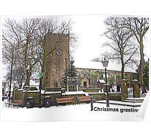 St Chads Church, Poulton-le-Fylde Poster
