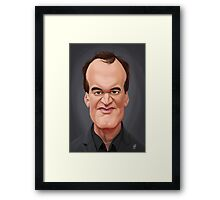Celebrity Sunday - Quentin Tarantino Framed Print