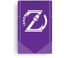 Omega Shift Logo - ZetaBoros Canvas Print