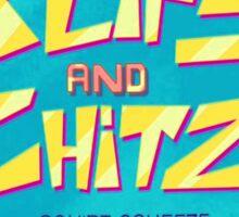 Blips and Chitz Sticker