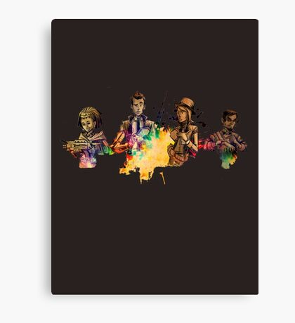 Tales from the Borderlands Characters Canvas Print