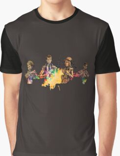 Tales from the Borderlands Characters Graphic T-Shirt