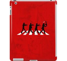 Zombies on Abbey Road (Version 02) iPad Case/Skin